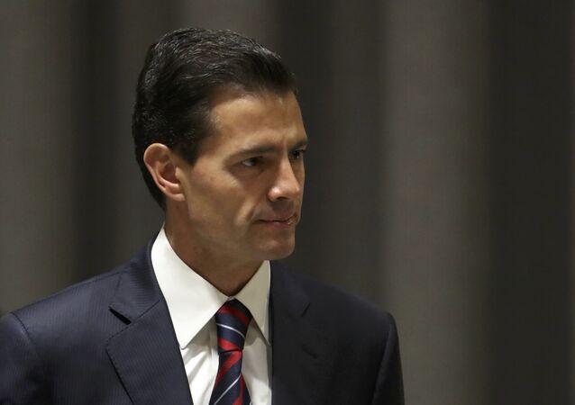Enrique Peña Nieto, expresidente de México