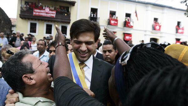 Carlos Ocariz, alcalde opositor del municipio venezolano de Sucre - Sputnik Mundo
