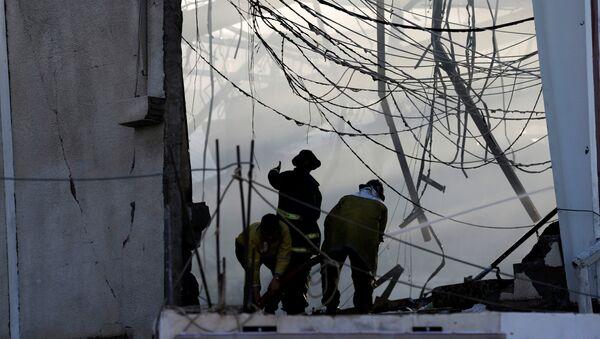Ataque aéro en Yemen - Sputnik Mundo