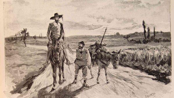 Don Quijote y Sancho Panza - Sputnik Mundo