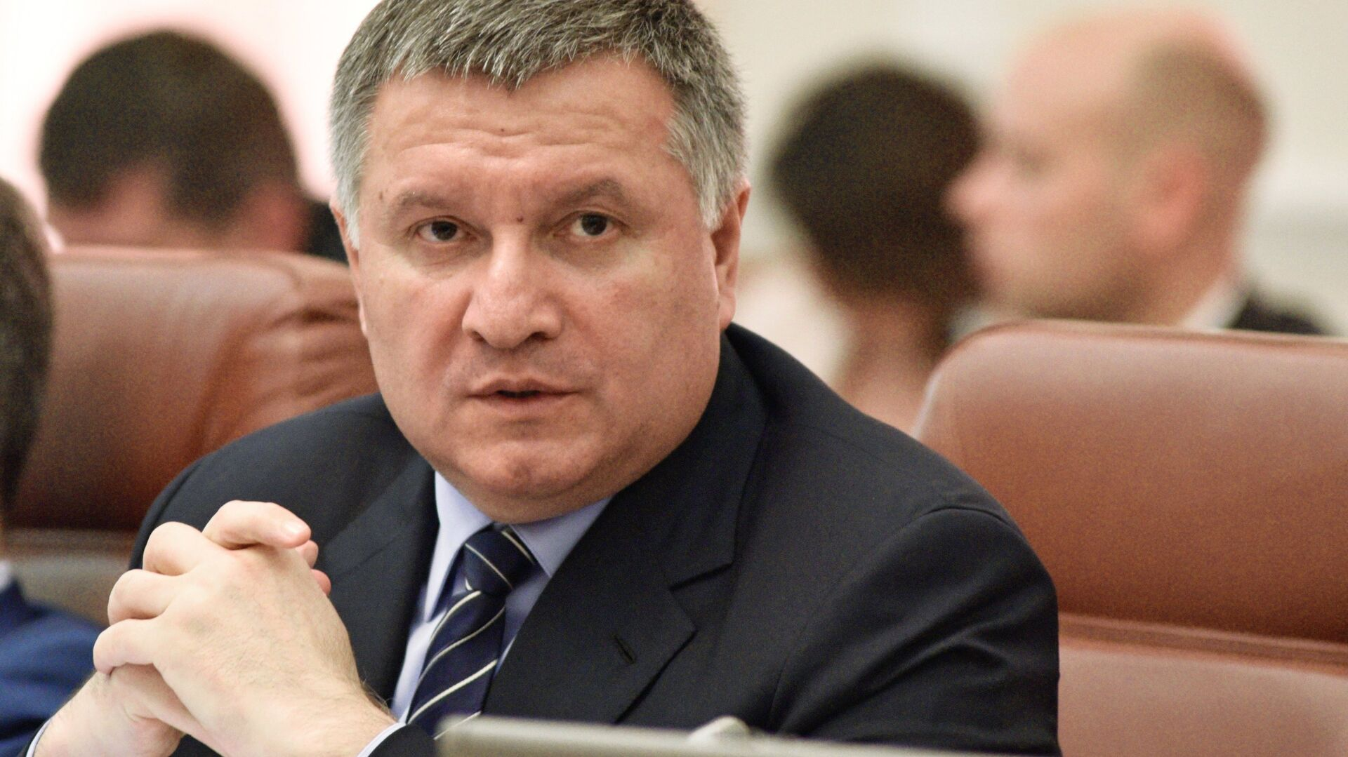 Arsén Avákov en la sesión del Gabinete de Ministros en Kiev - Sputnik Mundo, 1920, 13.07.2021