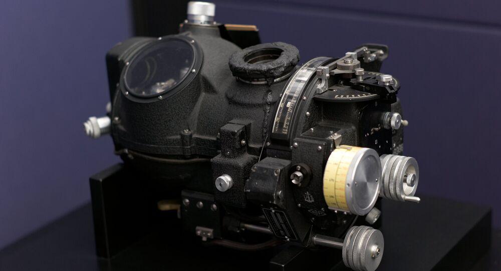 Una Mira Norden de la Segunda Guerra Mundial (archivo)