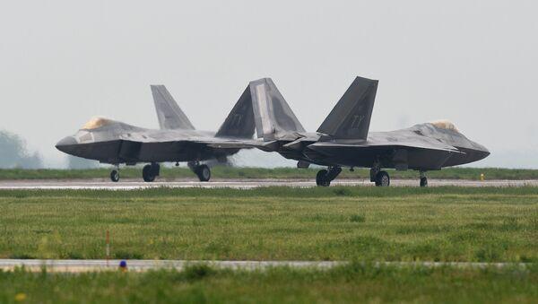 Los aviones de combate estadounidenses en Rumanía - Sputnik Mundo