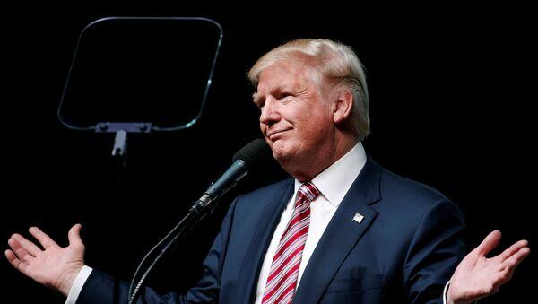 Donald Trump, ganador de las elecciones presidenciales de EEUU 2016 - Sputnik Mundo