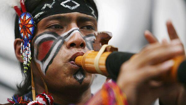 Un indígena de Perú (archivo) - Sputnik Mundo