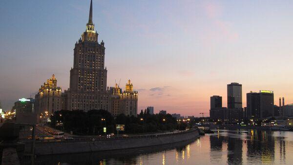 Hotel Ukraina en Moscú - Sputnik Mundo