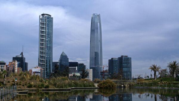 La Gran Torre Santiago, en Chile - Sputnik Mundo