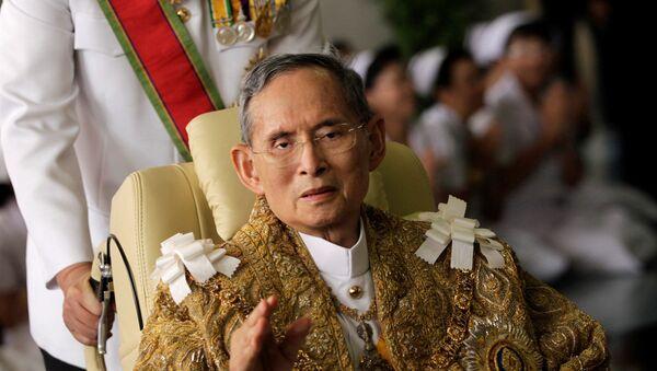 Bhumibol Adulyadej, el rey de Tailandia - Sputnik Mundo