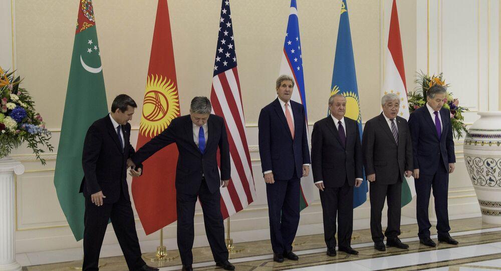 Encuentro de los titulares de exterior de EEUU, Uzbekistán, Kirguistán, Kazajistán, Tayikistán y Uzbekistán