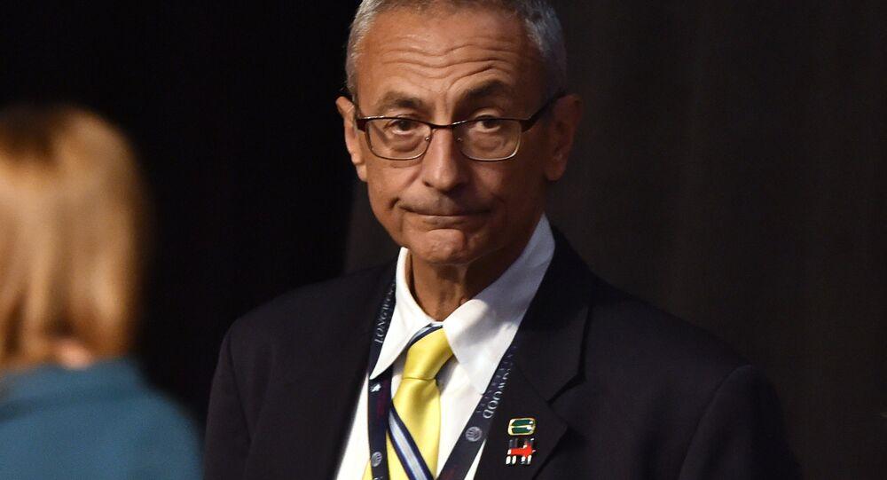 John Podesta, exjefe de la campaña electoral de Hillary Clinton
