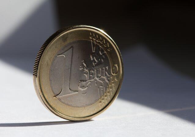Una moneda de euro