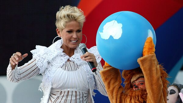 Xuxa, presentadora de televisión - Sputnik Mundo