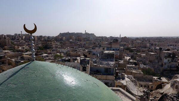Ciudad de Alepo en Siria - Sputnik Mundo