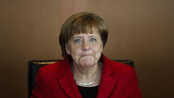 Canciller alemana Angela Merkel - Sputnik Mundo
