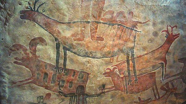 Pintura rupestre (archivo) - Sputnik Mundo