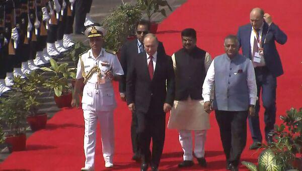 Putin asiste a la 8ª cumbre de los BRICS en la India - Sputnik Mundo