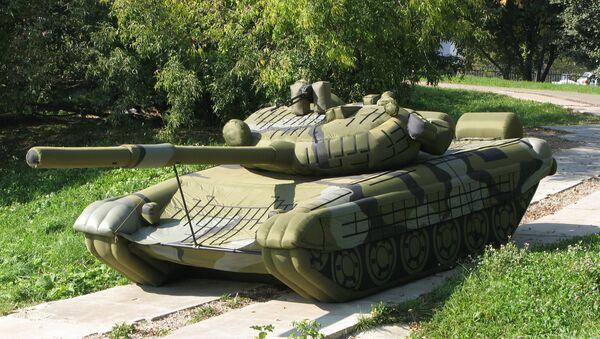 Tanque inflable (Archivo) - Sputnik Mundo