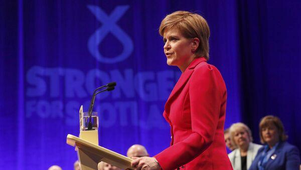 Nicola Sturgeon, la ministra principal de Escocia - Sputnik Mundo