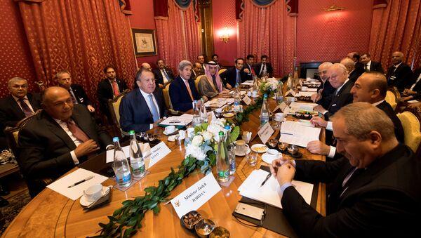 La reunión sobre Siria en Suiza, el 15 de octubre de 2016 - Sputnik Mundo