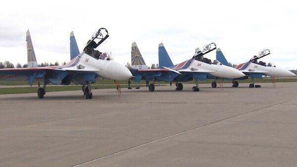 Los cazas Su-30SM - Sputnik Mundo