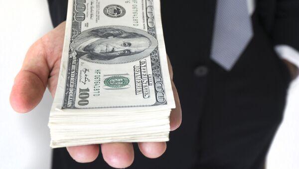 Dinero (billete de 100 dólares) - Sputnik Mundo