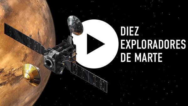 Diez exploradores de Marte - Sputnik Mundo