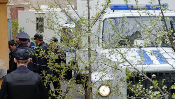 Policía en Abjasia (archivo) - Sputnik Mundo