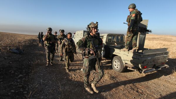 Peshmerga avanza en el este de Mosul para atacar a militantes del Estado Islámico - Sputnik Mundo