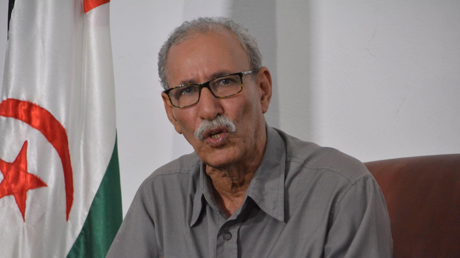 El presidente y líder del Frente Polisario, Brahim Ghali - Sputnik Mundo, 1920, 23.04.2021