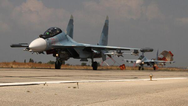 Los aviones rusos en Siria - Sputnik Mundo