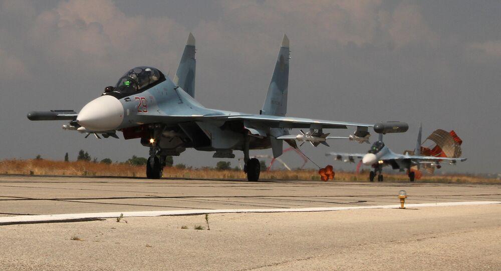 Los aviones rusos en Siria