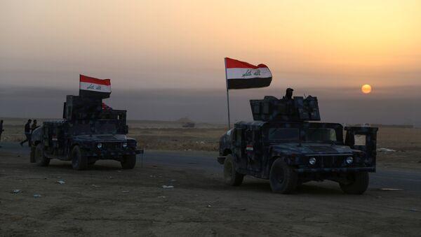 Las fuerzas de seguridad de Irak cerca de Mosul - Sputnik Mundo