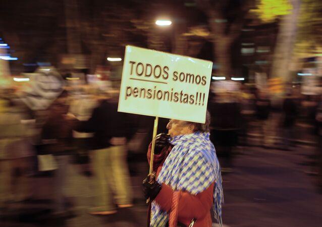 Una manifestación en Madrid