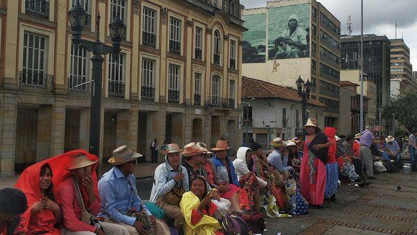 Comunidad indígena de Wayuú en Colombia - Sputnik Mundo