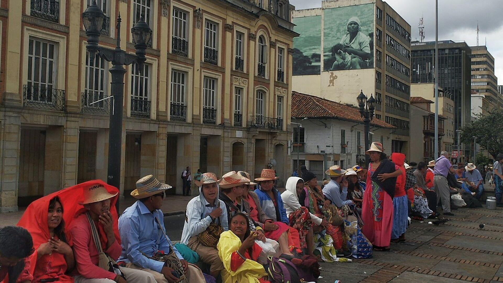 Comunidad indígena de Wayuú en Colombia - Sputnik Mundo, 1920, 29.04.2021