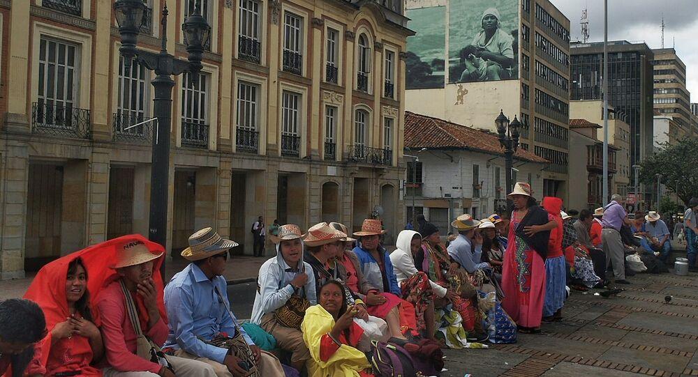 Comunidad indígena de Wayuú en Colombia (archivo)