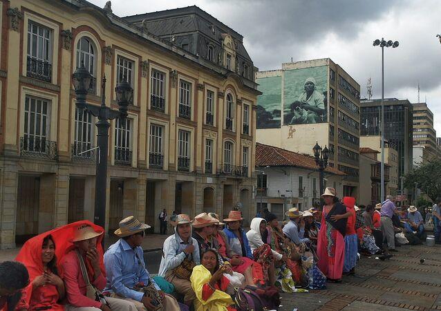 Comunidad indígena de Colombia (imagen referencial)