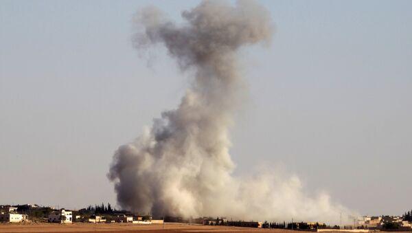Los bombardeos en Alepo, Siria - Sputnik Mundo