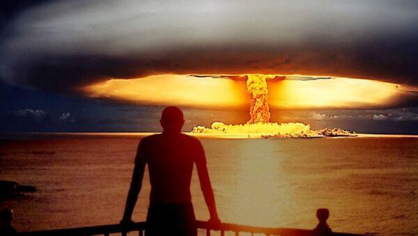 Hipotetica explosión nuclear - Sputnik Mundo