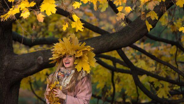 El 'Otoño de Oro' en los parques de Moscú - Sputnik Mundo