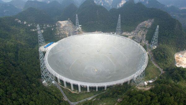 Telescopio chino FAST - Sputnik Mundo