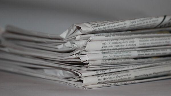 Periódicos - Sputnik Mundo