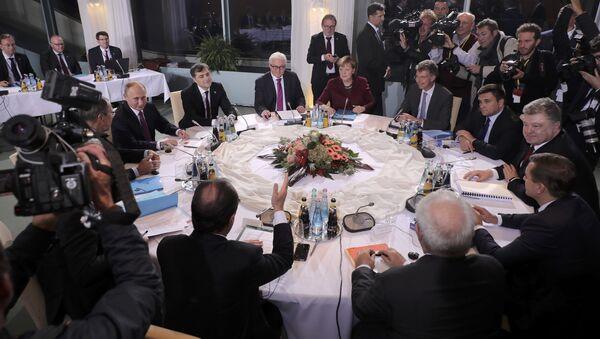 La cumbre del Cuarteto de Normandía - Sputnik Mundo