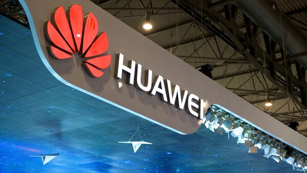 Estante de Huawei en Mobile World Congress 2015 de Barcelona - Sputnik Mundo