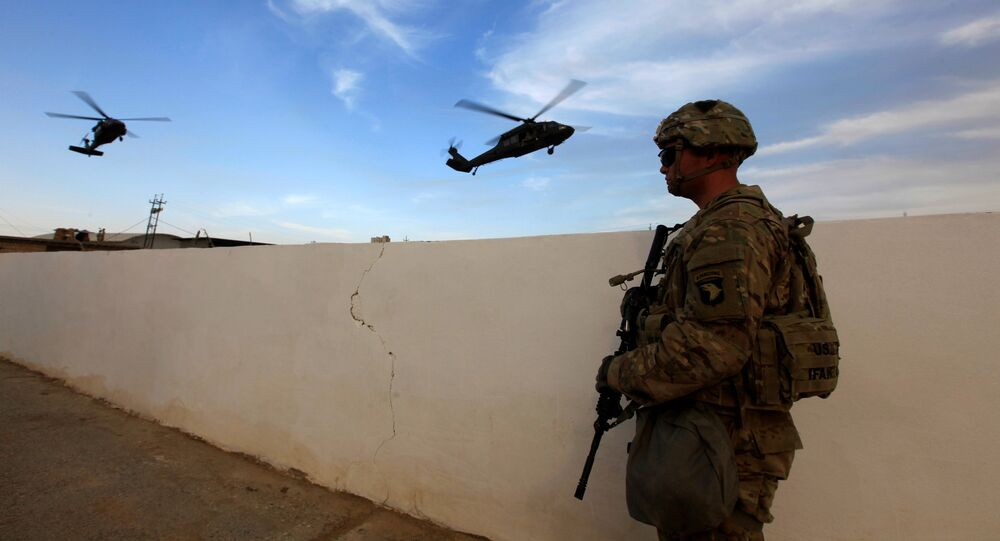 Base militar estadounidense en Irak (Archivo)