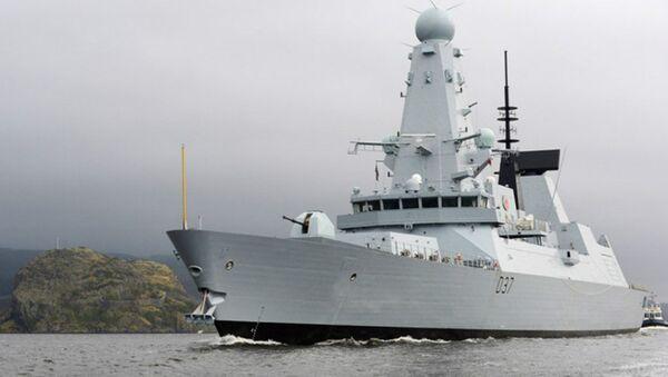 HMS Duncan de la Armada británica - Sputnik Mundo