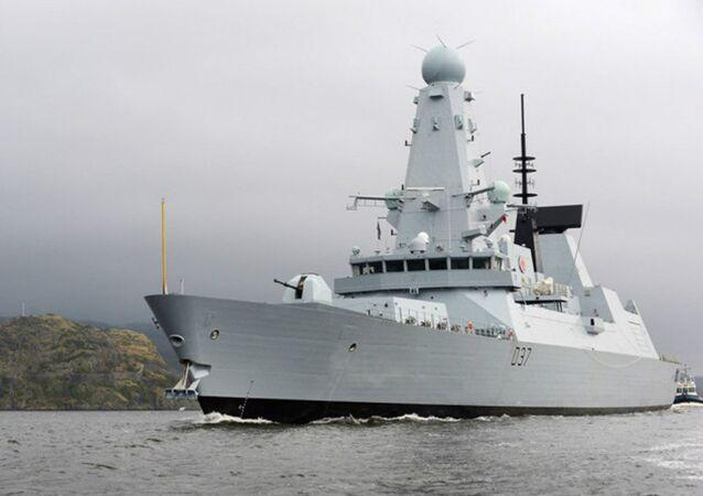 HMS Duncan de la Armada británica