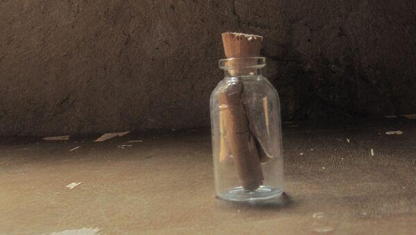 Mensaje en una botella - Sputnik Mundo