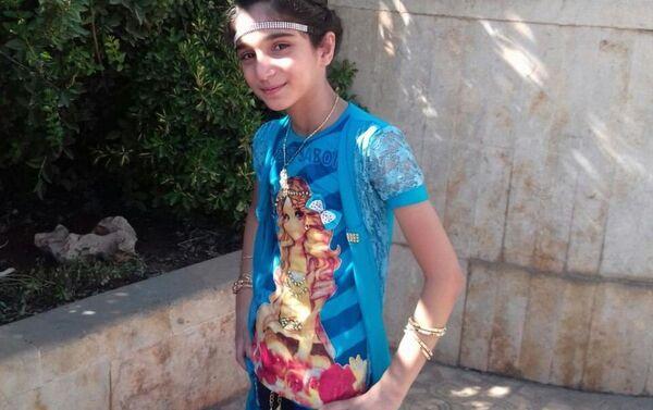 Ahd Al-Khaderi antes del incidente Alepo - Sputnik Mundo