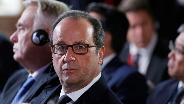 François Hollande, el presidente de Francia - Sputnik Mundo